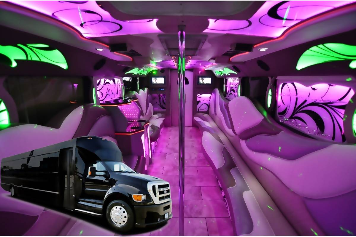 28 Passenger Exotic Party Bus