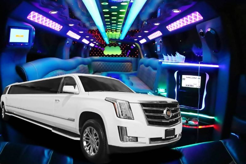 Stretch Cadillac Escalade Limo